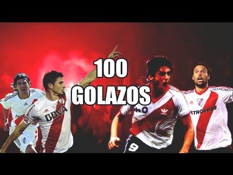 100 Golazos de River Plate - HD FULL - Parte I