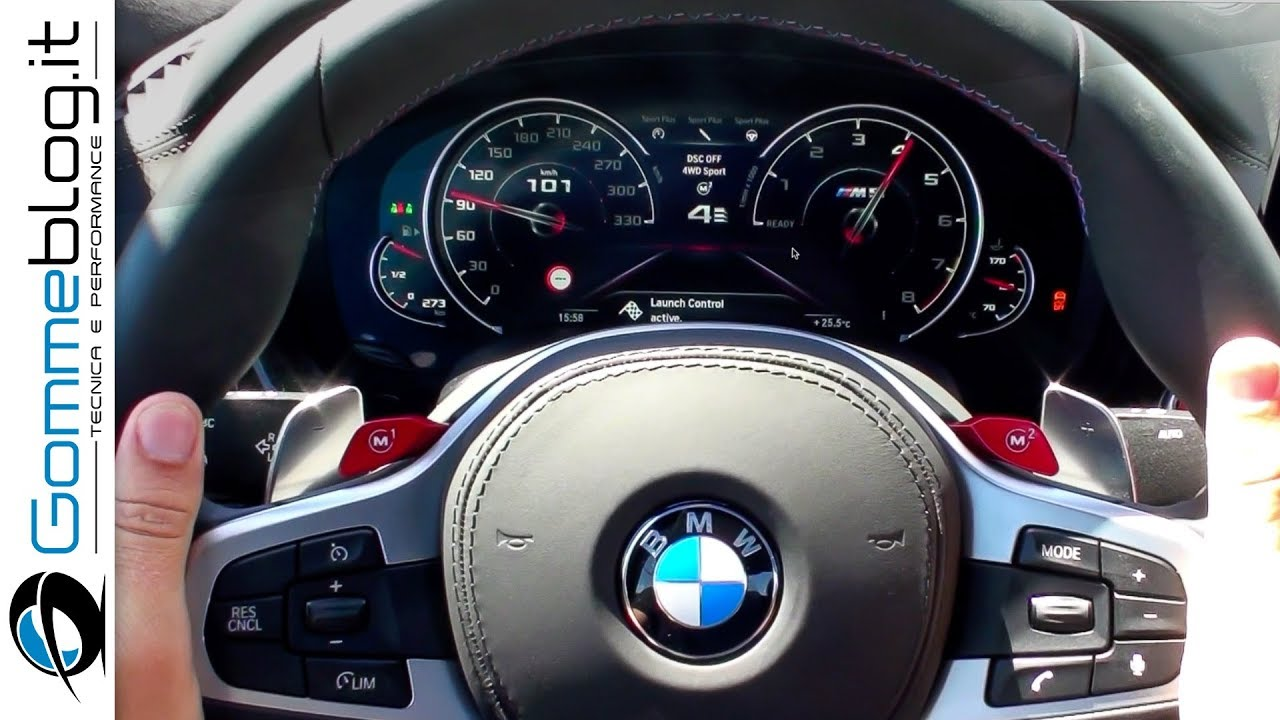 Bmw m5 launch control