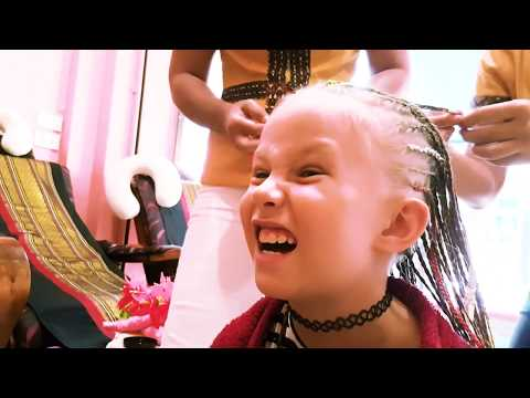 Новая ПРИЧЕСКА Николь Тысяча КОСИЧЕК Моя РАДОСТЬ Мисс ВСЕЛЕННАЯ AMAZING CHALLENGE for kids