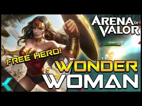FREE HERO! Wonder Woman Event and Ability Breakdown (NA)