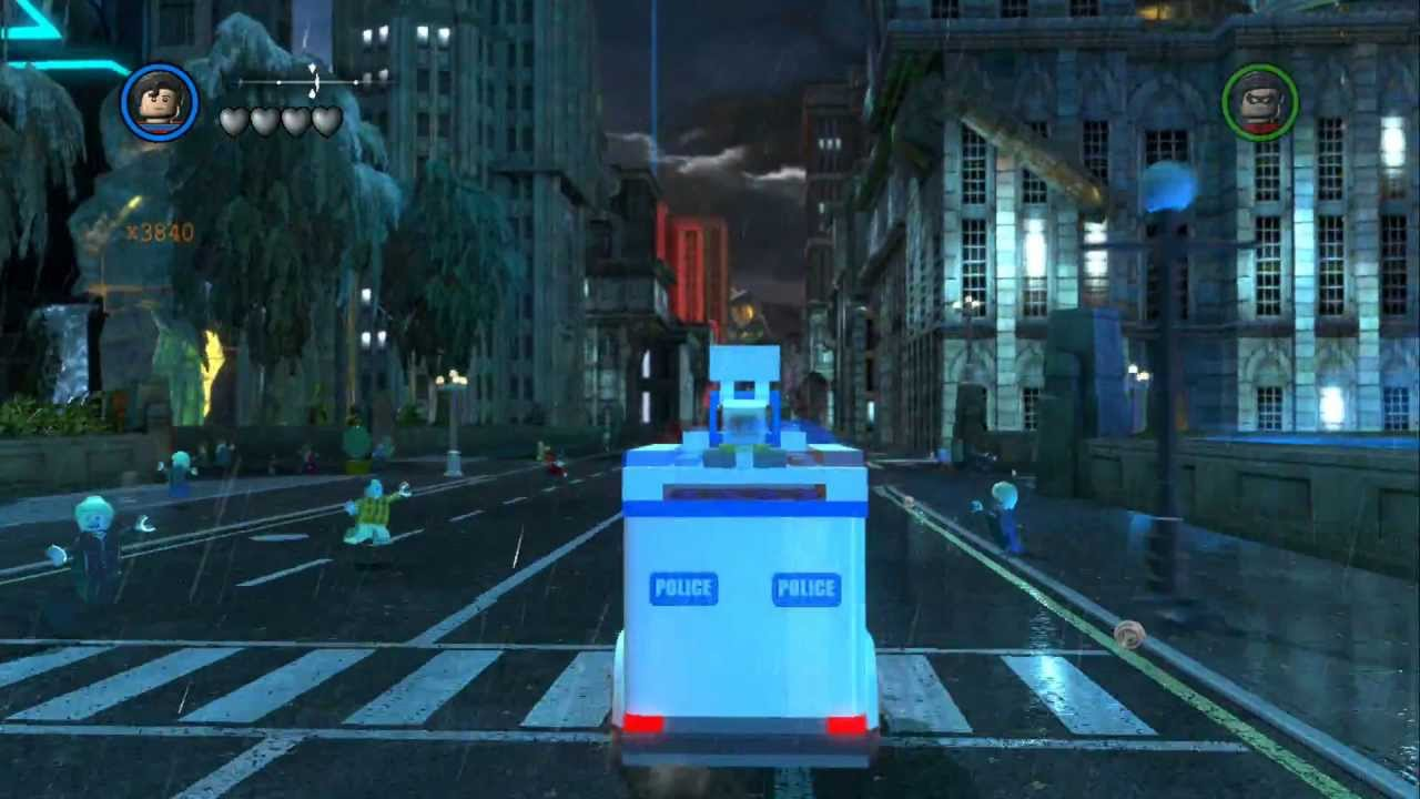 LEGO Batman 2 DC Super Heroes - Unlocking All Vehicles in Gotham City South