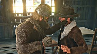 Red Dead Redemption 2 - Defending Uncle From Bully