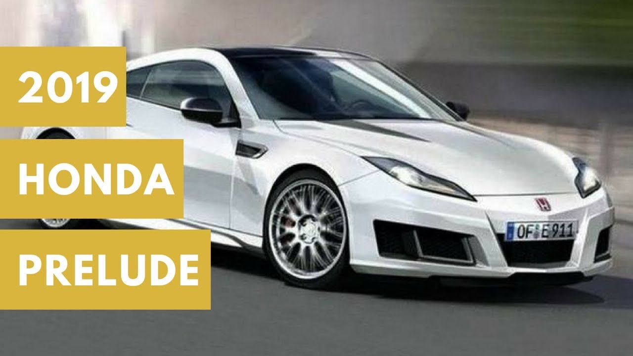 2020 Honda Prelude Concept and Review