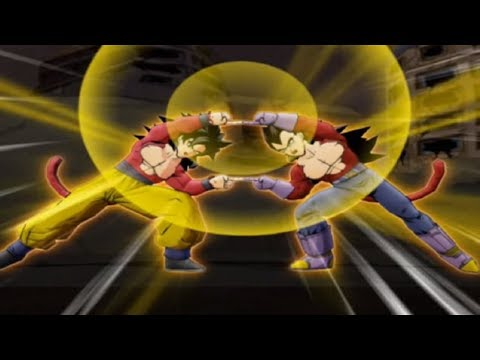 Dragonball Z Infinite World - Story Mode - GT Saga (Z Playthrough)