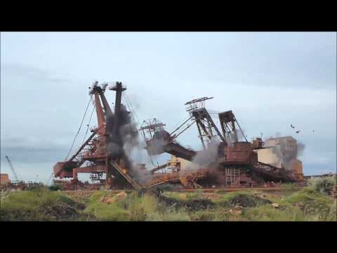 Nelson Point Stacker Explosive Demolition
