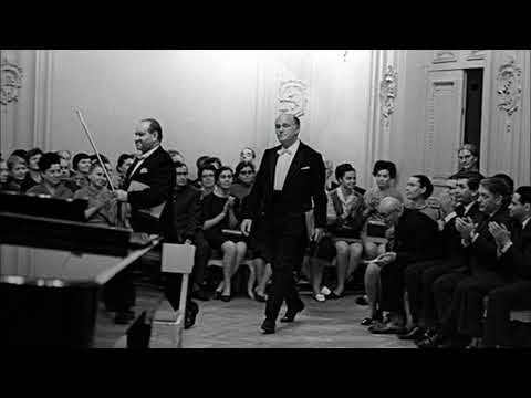 Oistrakh & Richter recital in Moscow 28.XII.1968