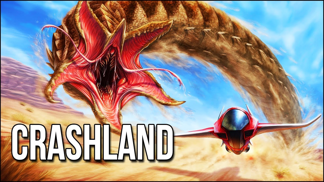 Crashland | Stalked By GIANT Worms In This New Quest Game!