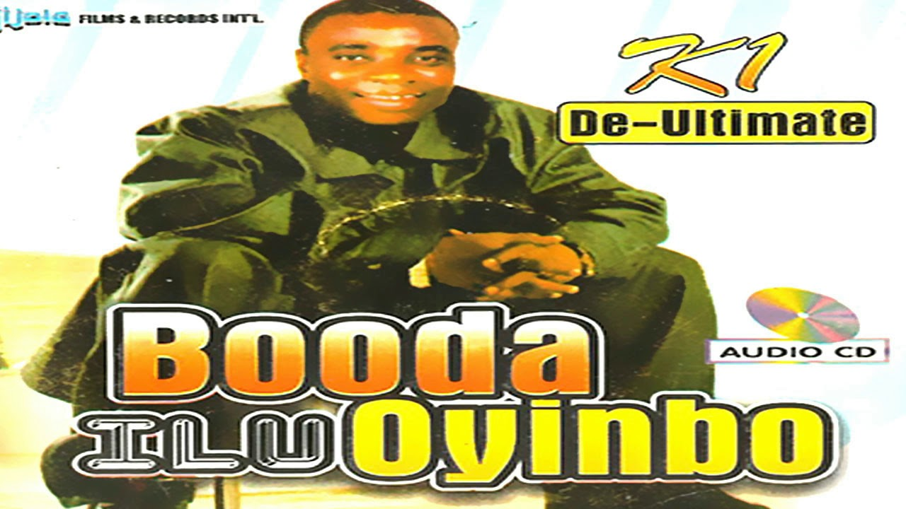 Download K1 De Ultimate - Booda Ilu Oyinbo - 2019 Yoruba Fuji Music New Release this week 😍