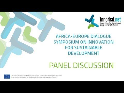 inno4sd Symposium  Pretoria | Panel Discussion (30 November)