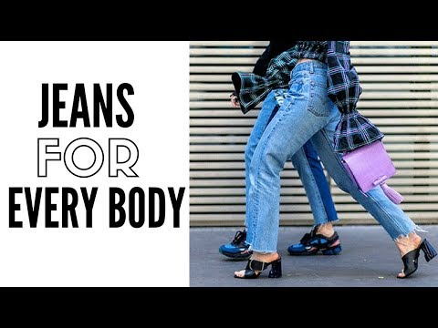 Finding The Perfect Jeans For Your Body Type  | How to Wear. http://bit.ly/2zwnQ1x