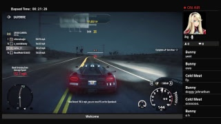 Im a deer playing need for speed rivalsXD