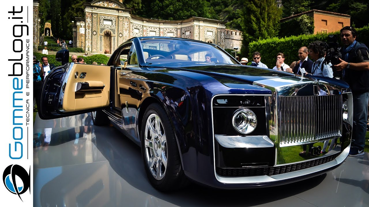 Rolls-Royce Sweptail $13 MILLION - World's Most Expensive CAR - YouTube