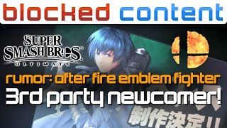 RUMOR: Fan UNLOCKS Sakurai's PATTERN For NEW FIGHTERS! Fire Emblem Theory - LEAK SPEAK!