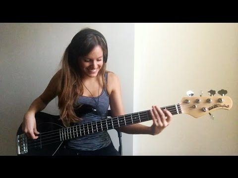 Bruno Mars - Chunky (live) [Bass Cover]