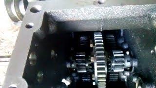 Ремонт и установка дифференциала мототрактора.