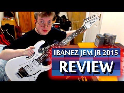 Ibanez JEM-JR 2015 (Steve Vai Signature) Guitar Review