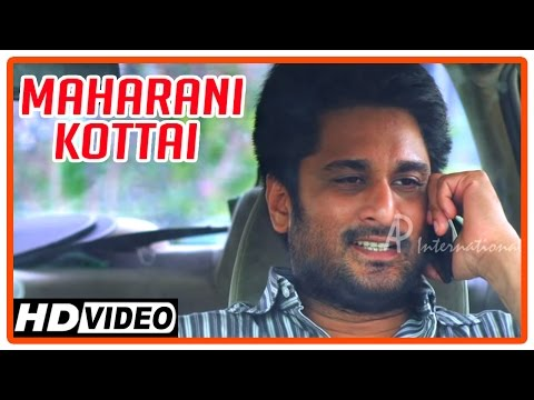 Maharani Kottai Tamil Movie | Scenes | Richard Tries Overtaking Another Car | Aani Princy