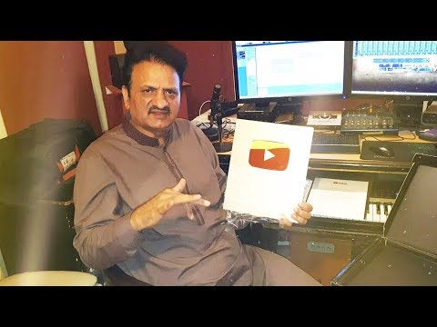 Akram Rahi Receives Silver YouTube Creator Award + Updates and New Songs
