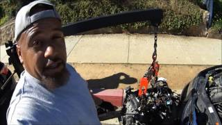 (SAVE $$$)  HOW TO SWAP AN ENGINE WITH HOLES IN THE BLOCK, THROWN ROD EXPLAINED / TIME VS ETERNITY