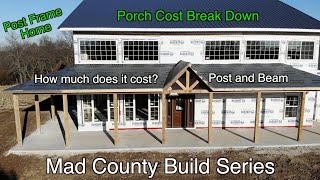 Gambar cover Cost to Build a Pole Barn House: PORCH + GIVEAWAY!