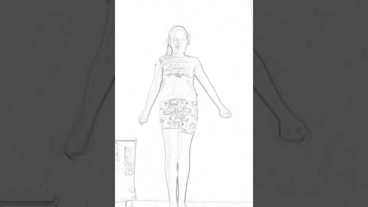 Анимация танцующий девушки
