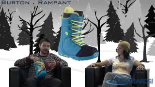 2014 Burton Rampant Mens Boots Overview by SNOWBOARDS.COM