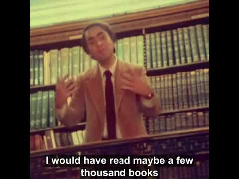 Carl Sagan on the Importance of Choosing Wisely What You Read (Even If You Read a Book a Week)
