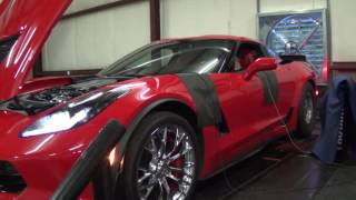 Dynoing the C7 Z06 stock and with Cold Air Intake!