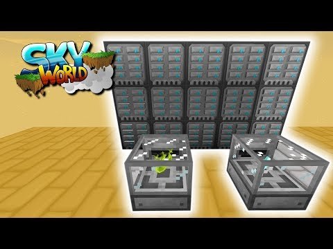 20Mrd Items Speichern! MEGA Server Upgrade! - #16 - Minecraft Sky World