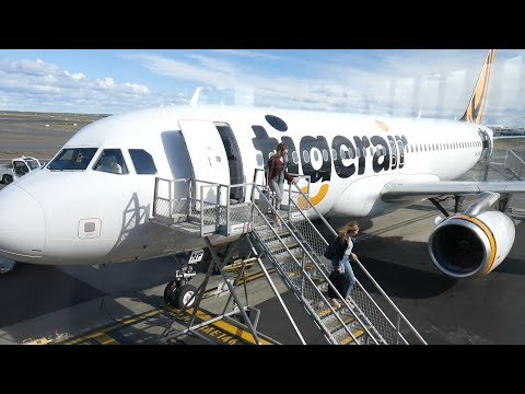 TigerAir Cairns To Sydney A320 Flight TT677