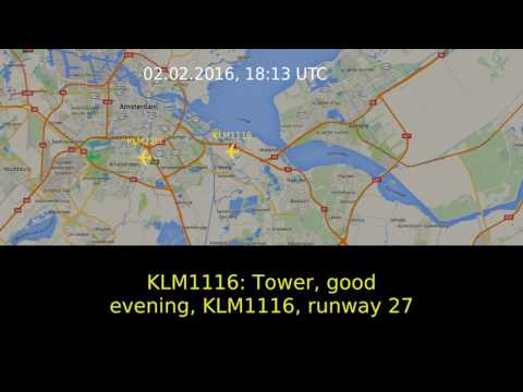 [ATC] SR22T crash into Amsterdam-Schiphol International Airport / February 2016