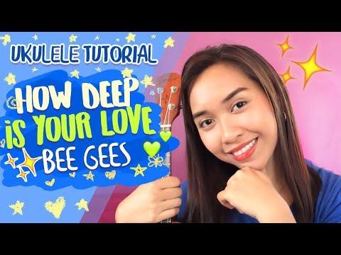 How Deep Is Your Love (Bee Gees) Ukulele Tutorial