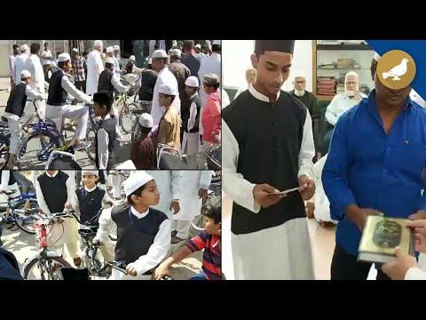 Hyderabad: Free bicycle to kids for praying fajr