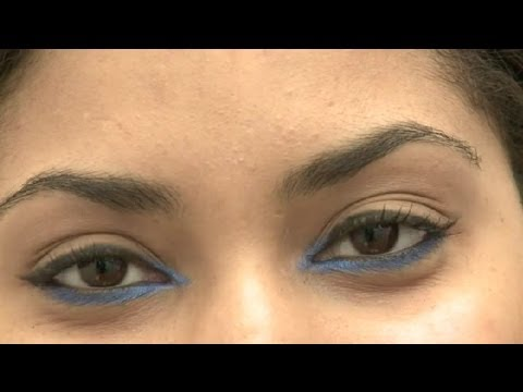 How to Do Cat Eye Makeup for Almond-Shaped Brown Eyes : Eye Makeup ...