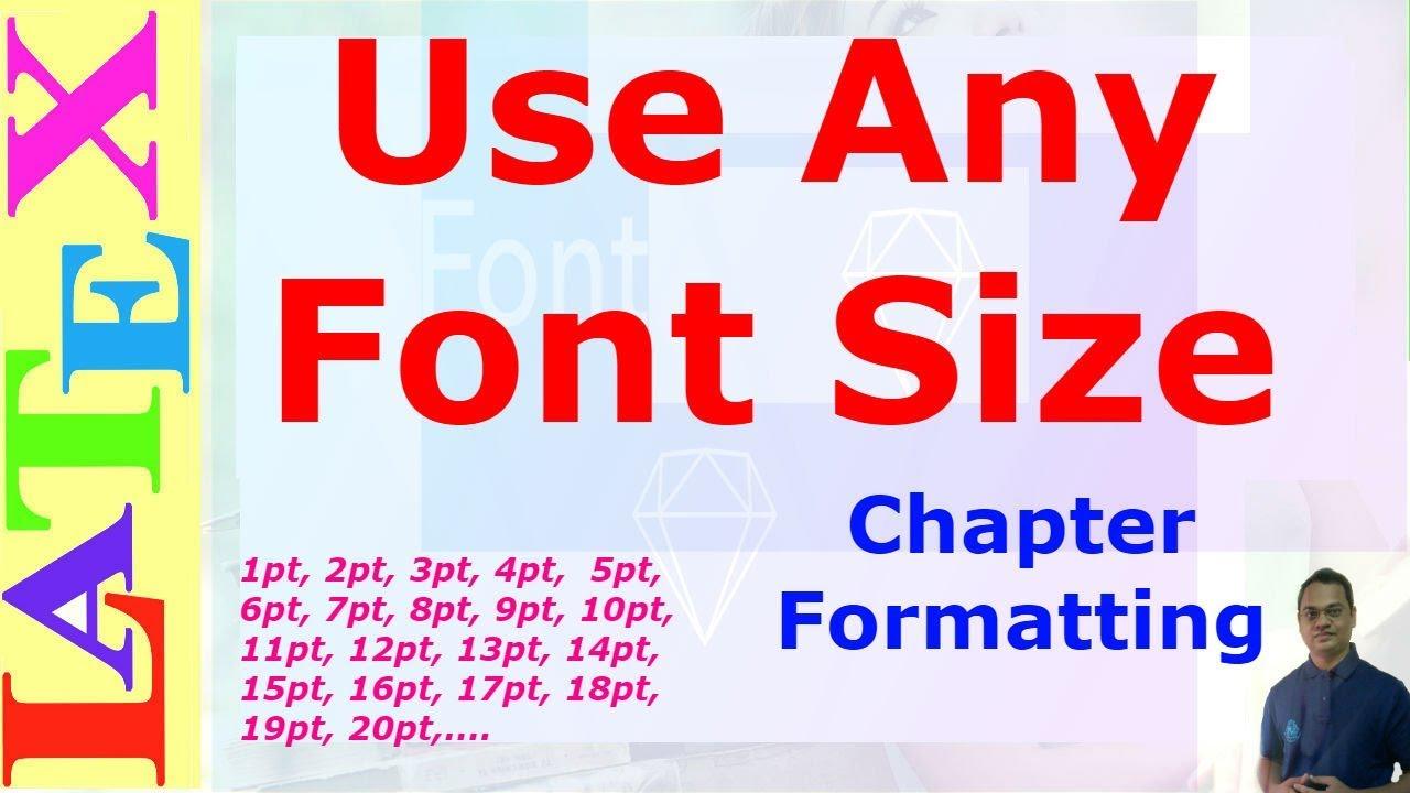 tikz font size