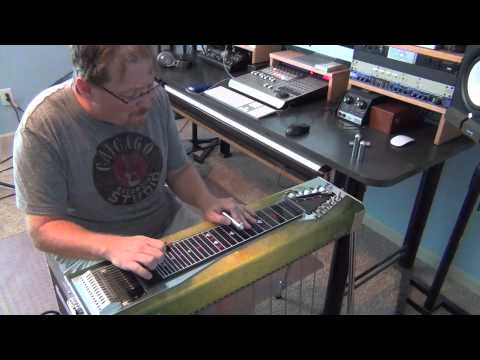 """""""Blue Eyes Crying In The Rain"""" Steel Guitar by Zane King"""