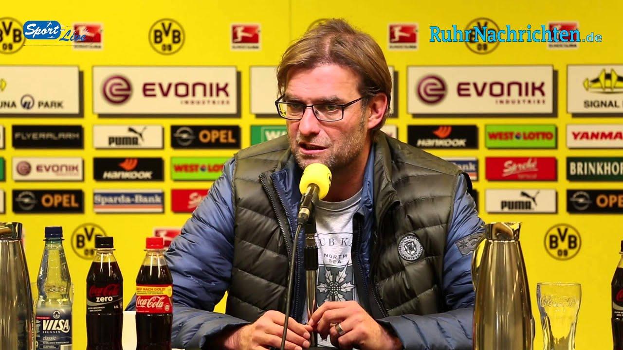 BVB Pressekonferenz vom 8. November 2012 vor dem Spiel FC Augsburg gegen Borussia Dortmund
