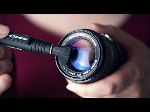 Binaural ASMR/Whisper. Lens Cleaning & Talking Equipment