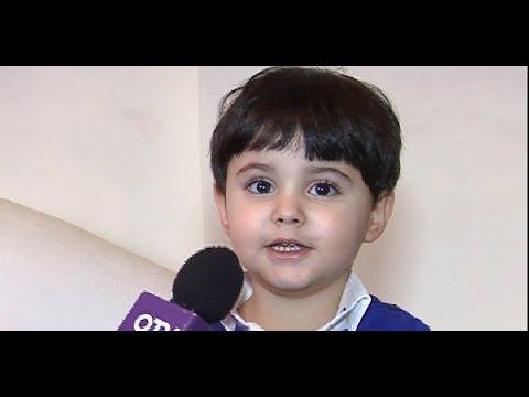 ال OTV  في منزل جوناثان مصطفى... الطفل الذي رتل في دير مار مارون عنايا
