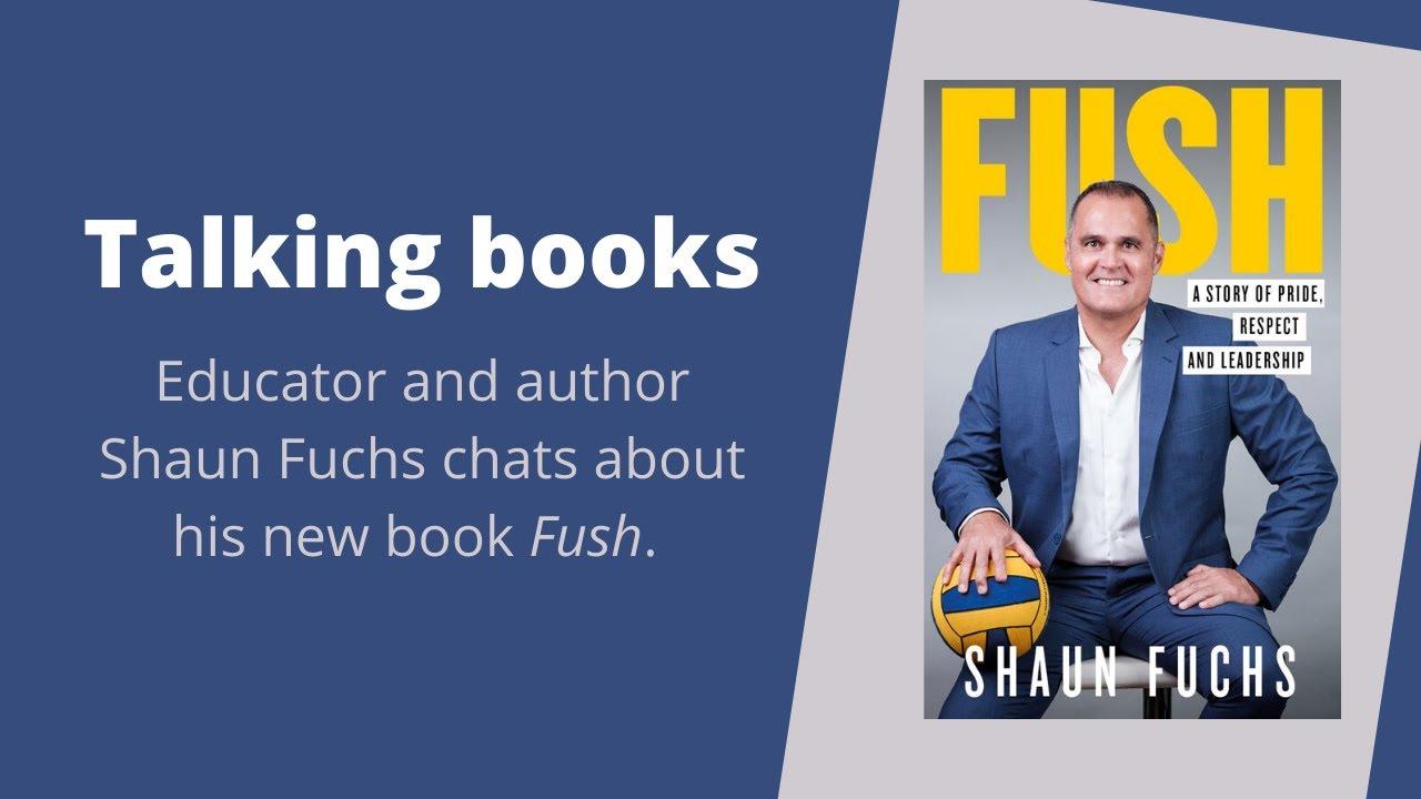 Author Shaun Fuchs talks about his new book Fush, coming out as a gay man, & fighting for inclusion