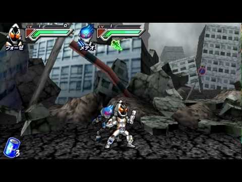 All Kamen Rider:Rider Generation 2(PSP) - Part 1: It's Space Time!!!