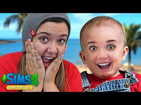 MEU FILHO NASCEU! - The Sims 4 Ilhas Tropicais
