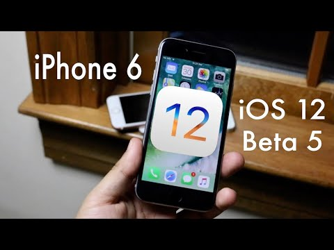 IOS 12 BETA 5 On IPHONE 6! (Review)