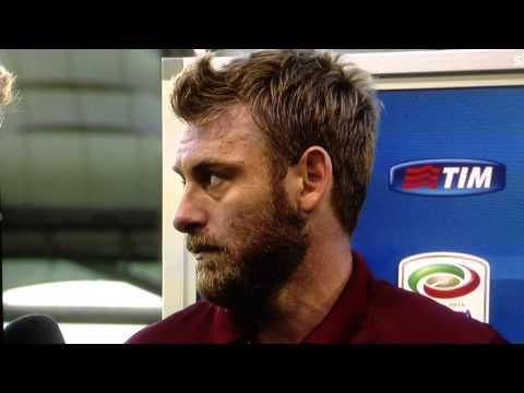 DANIELE DE ROSSI INTERVISTA- Lazio-Roma 1-2