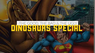 Superman, Jurassic Park, Cadillacs and Dinosaurs! #ComicBooks