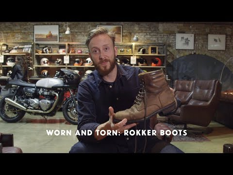 Worn and Torn: Rokker Urban Racer Boots