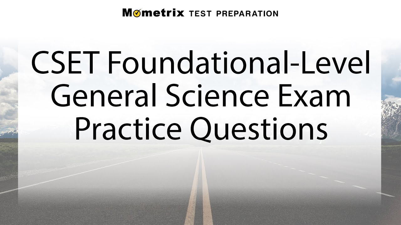 Cset life science practice test