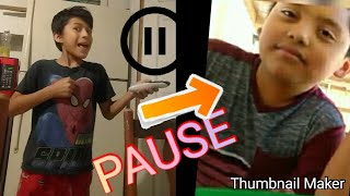 The PAUSE CHALLENGE WITH EDWIN!!!