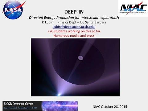 NASA NIAC Fall Symposium Talk by Lubin
