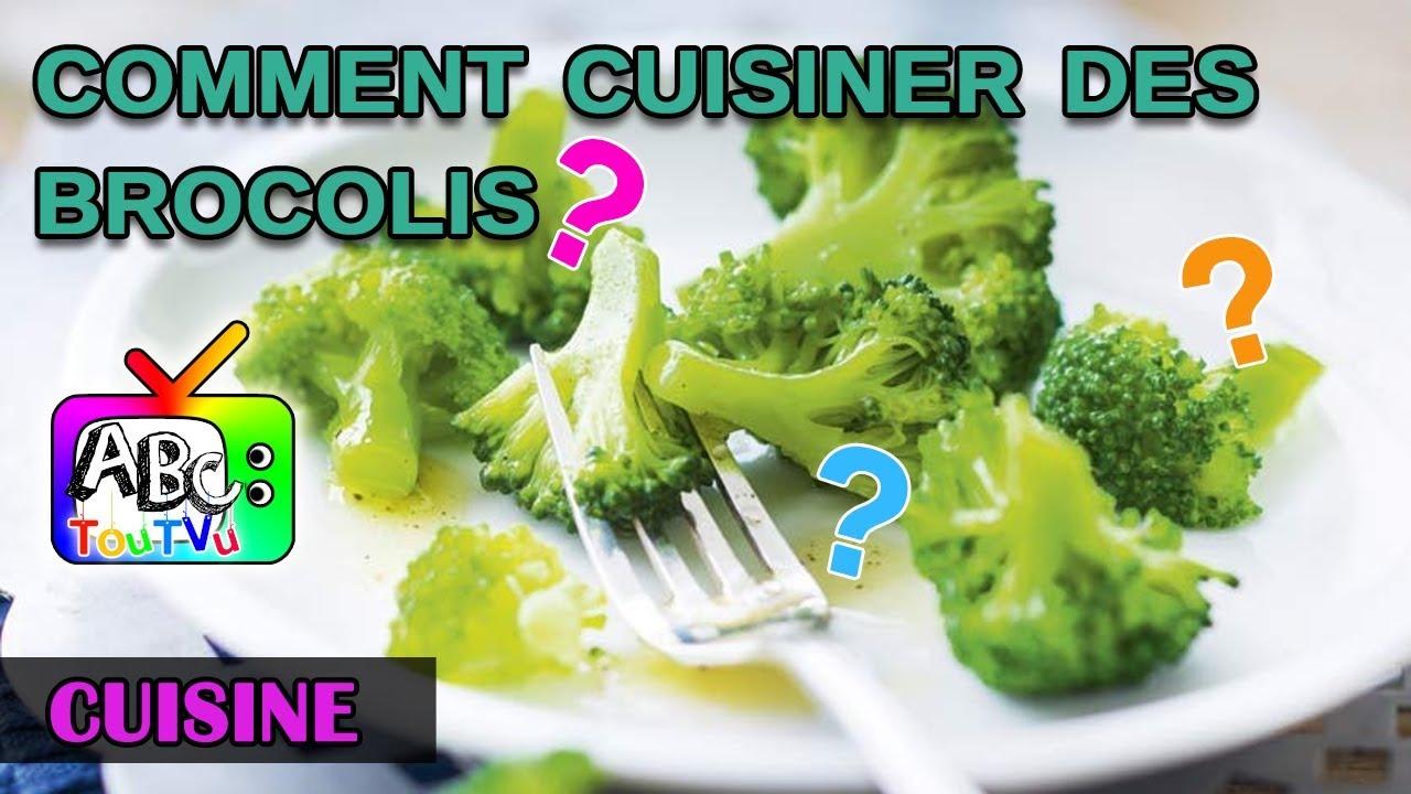 Cuisine comment bien cuisiner des brocolis youtube - Cuisiner brocolis surgeles ...